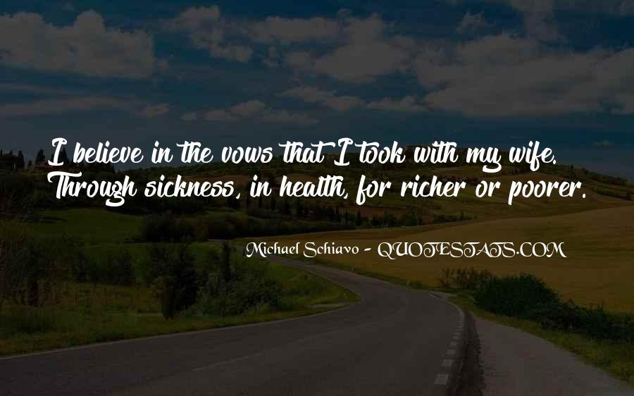 Richer Or Poorer Quotes #94397
