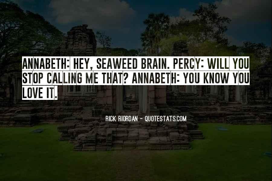 Rick Riordan Love Quotes #1001770