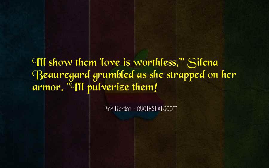 Rick Riordan Love Quotes #106083