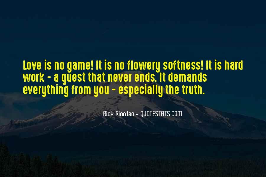 Rick Riordan Love Quotes #1127693