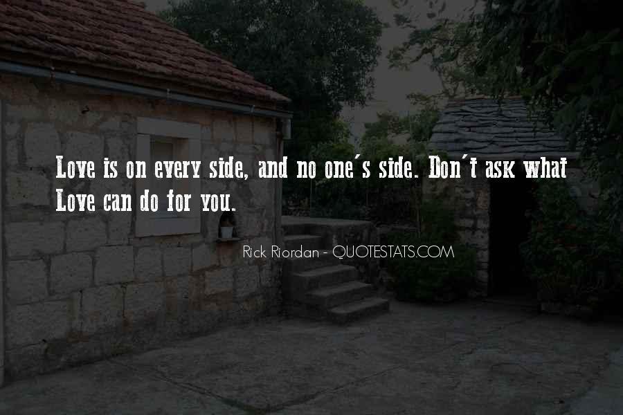 Rick Riordan Love Quotes #1132964