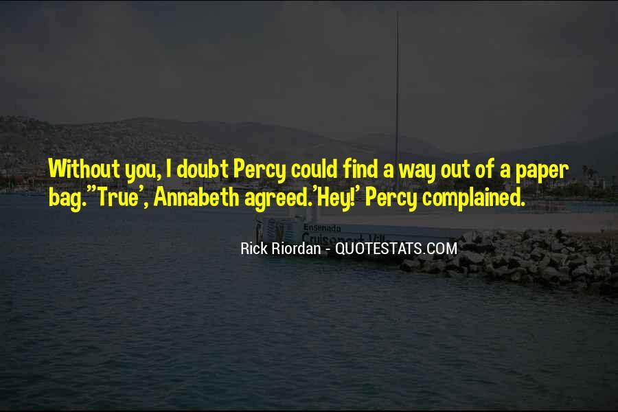 Rick Riordan Love Quotes #1150069