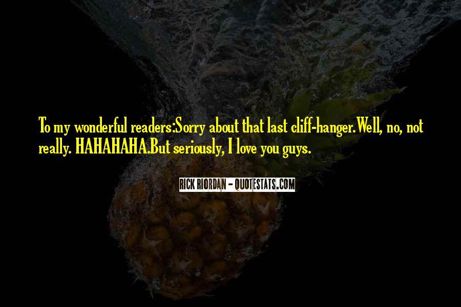 Rick Riordan Love Quotes #1156891