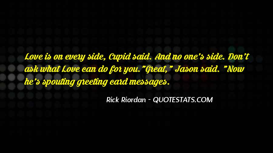 Rick Riordan Love Quotes #1187769