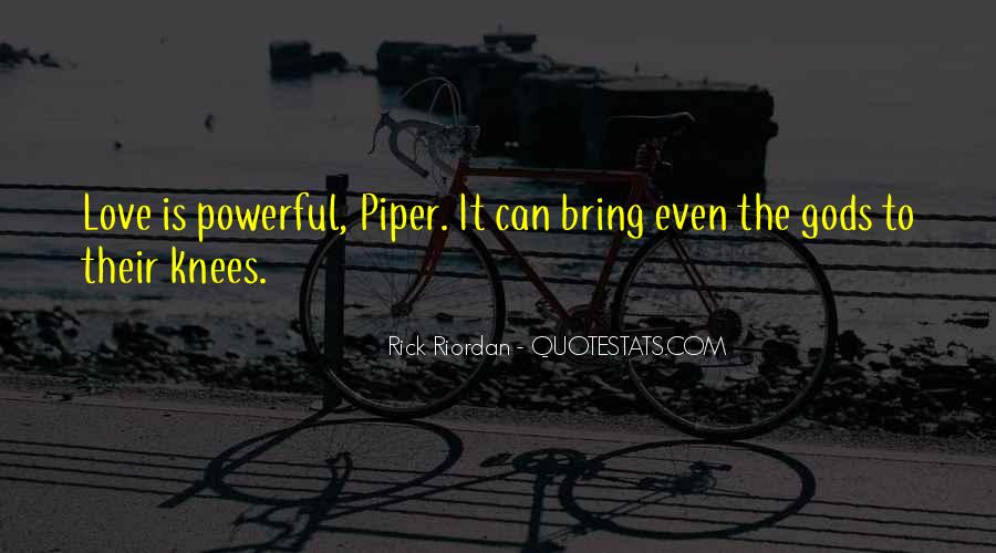 Rick Riordan Love Quotes #1198027
