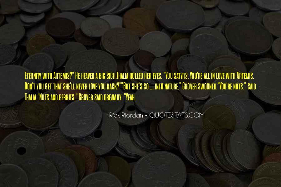 Rick Riordan Love Quotes #1219099