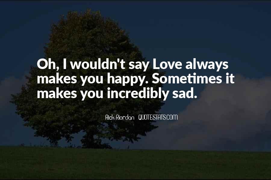 Rick Riordan Love Quotes #1293756