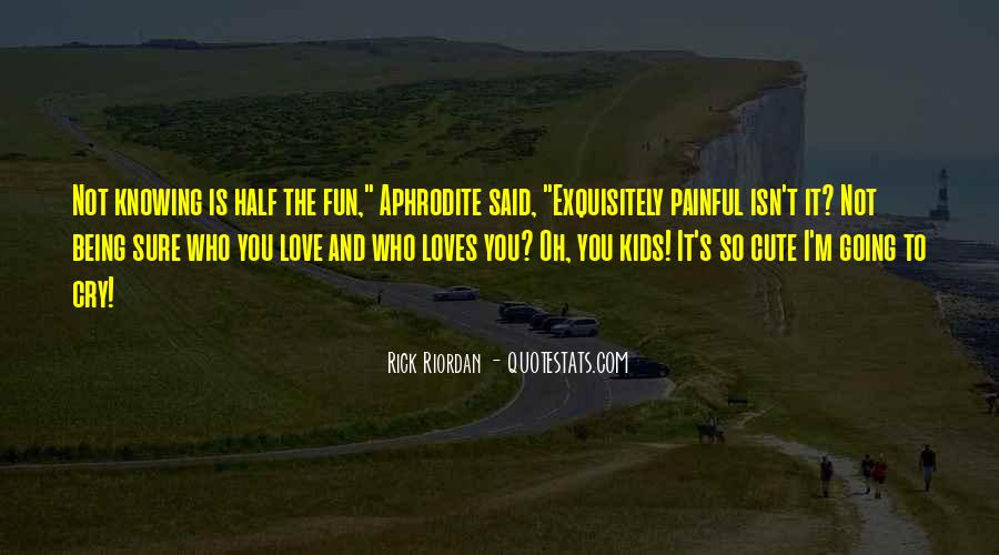Rick Riordan Love Quotes #130455