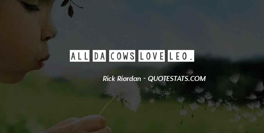 Rick Riordan Love Quotes #1331368