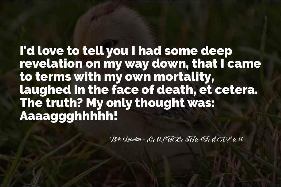Rick Riordan Love Quotes #1334170