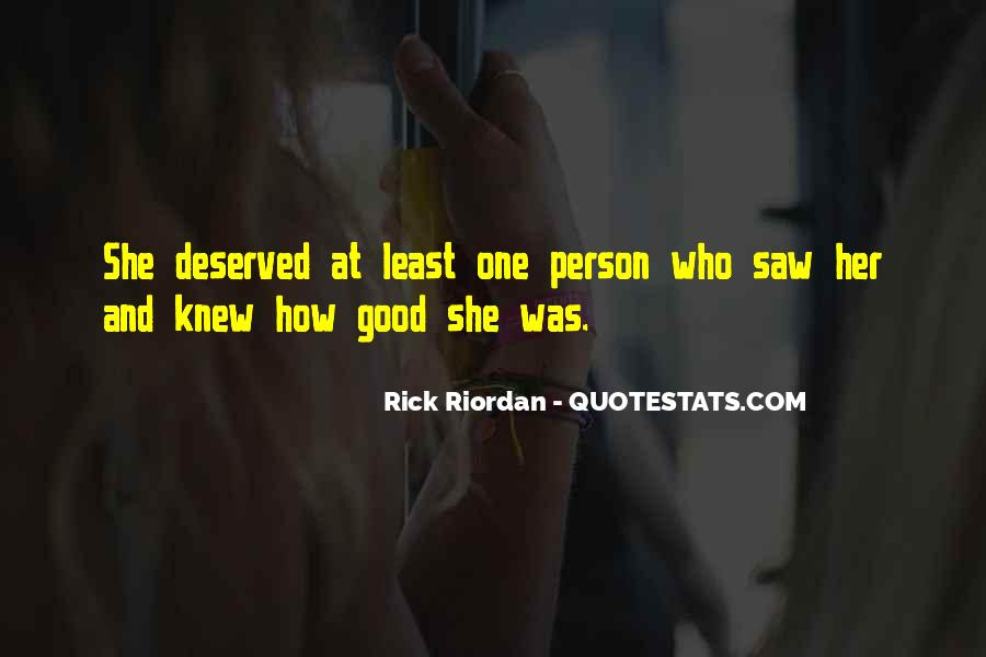 Rick Riordan Love Quotes #1374855