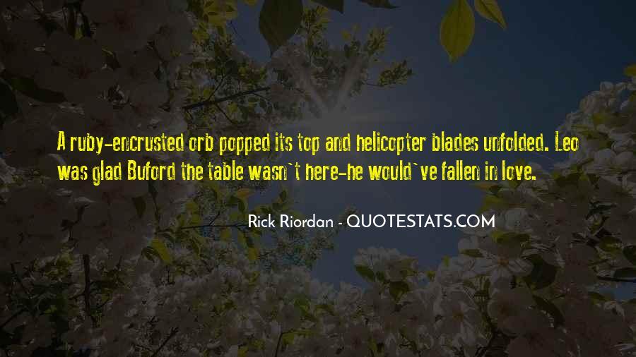 Rick Riordan Love Quotes #1393727