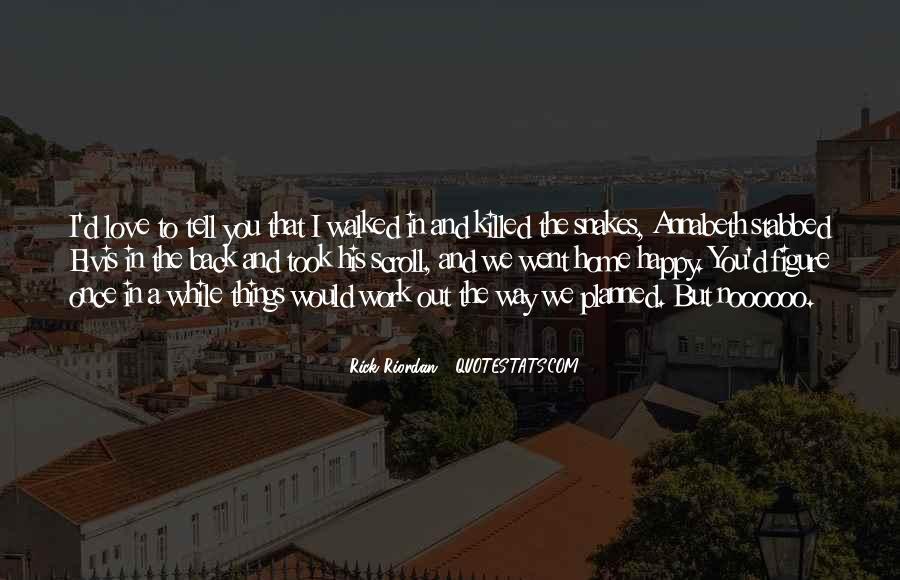 Rick Riordan Love Quotes #309772