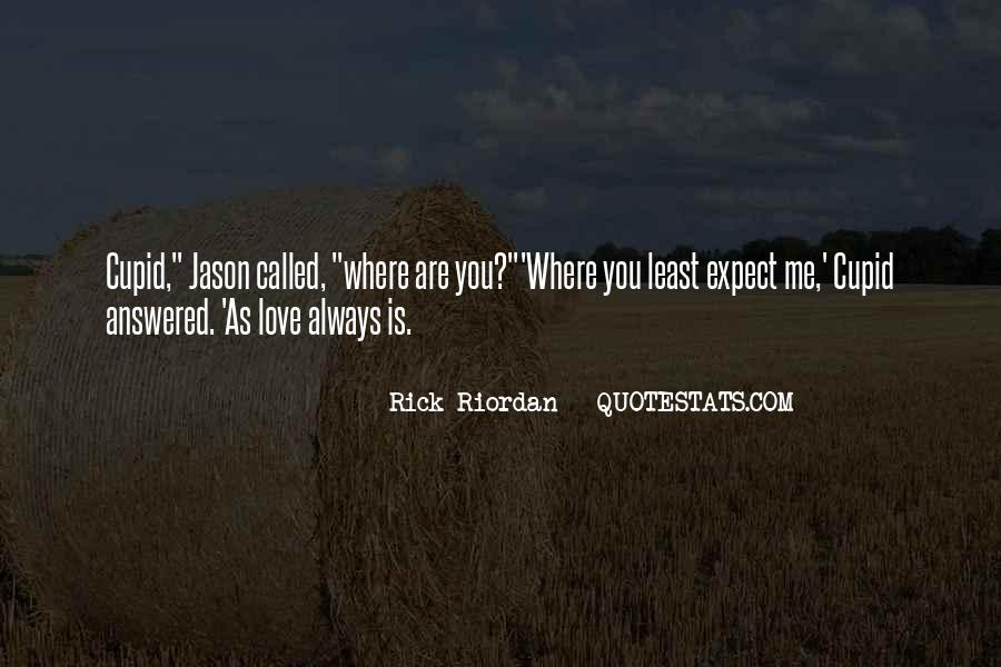 Rick Riordan Love Quotes #31818