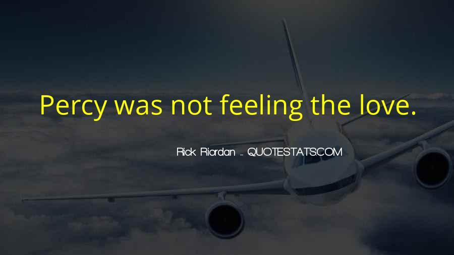 Rick Riordan Love Quotes #473377