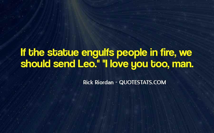 Rick Riordan Love Quotes #597669