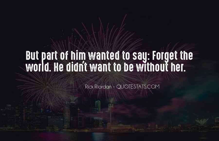 Rick Riordan Love Quotes #811532
