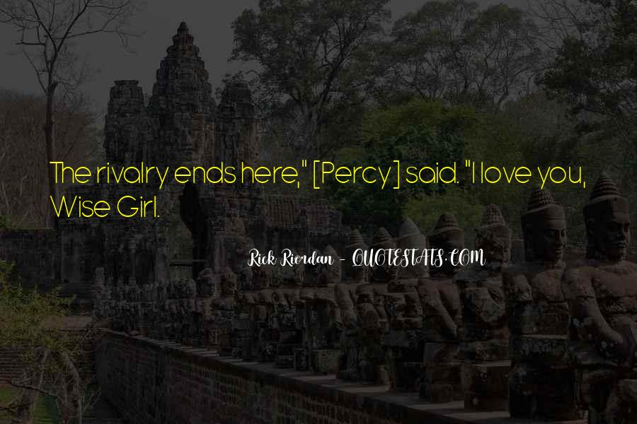 Rick Riordan Love Quotes #903041