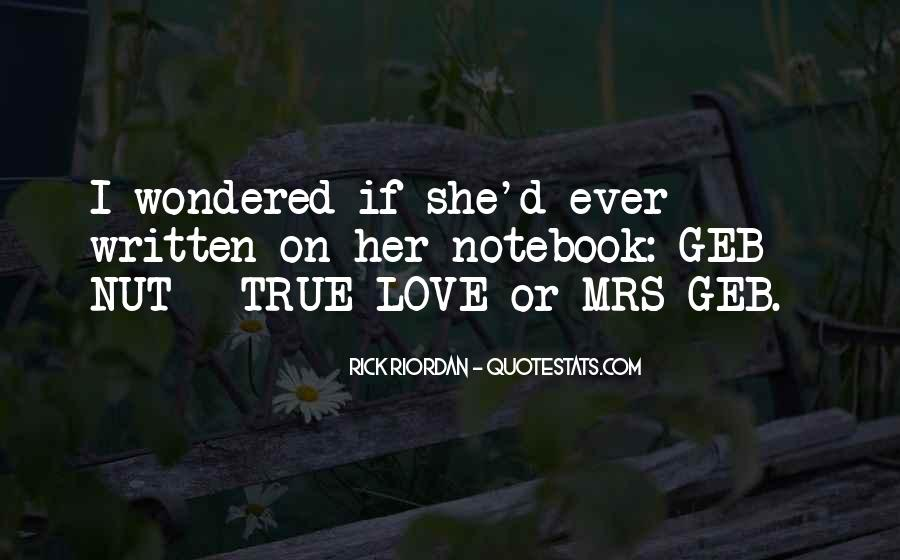 Rick Riordan Love Quotes #912310