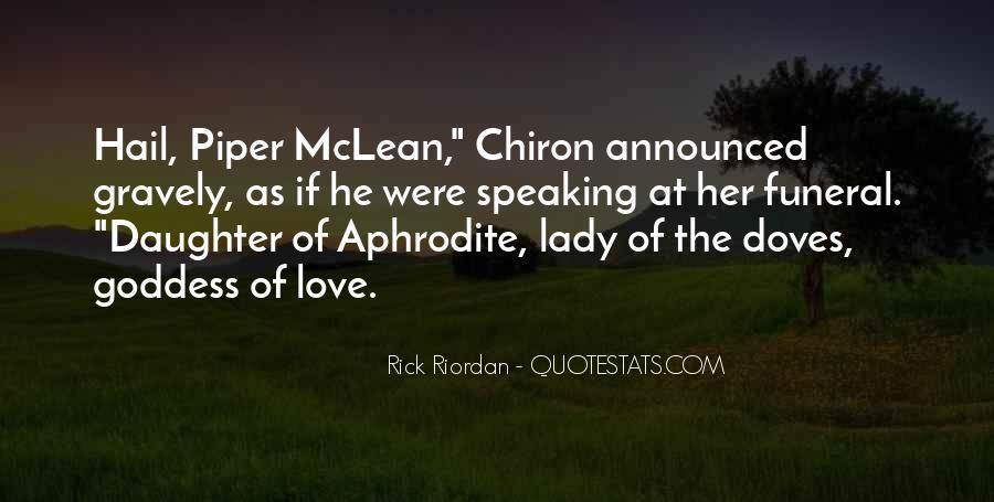 Rick Riordan Love Quotes #935518