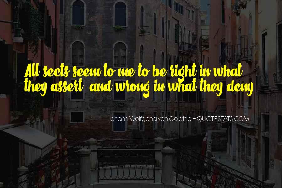 Right Doctrine Quotes #1098149