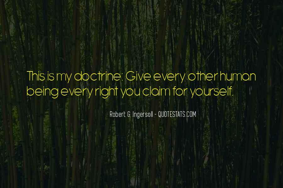 Right Doctrine Quotes #1206695