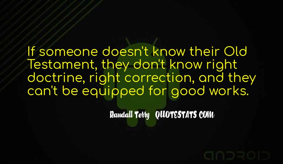 Right Doctrine Quotes #122935