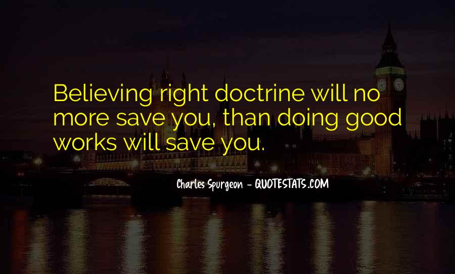 Right Doctrine Quotes #1374311