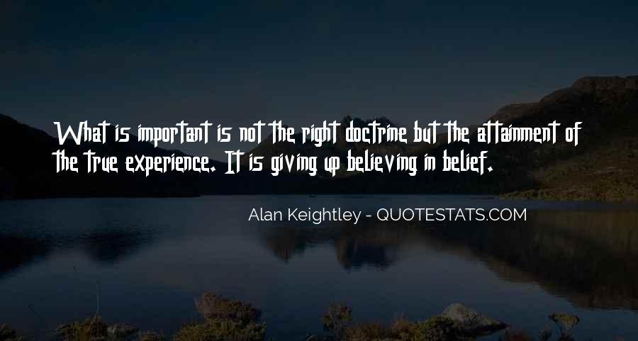 Right Doctrine Quotes #1409908