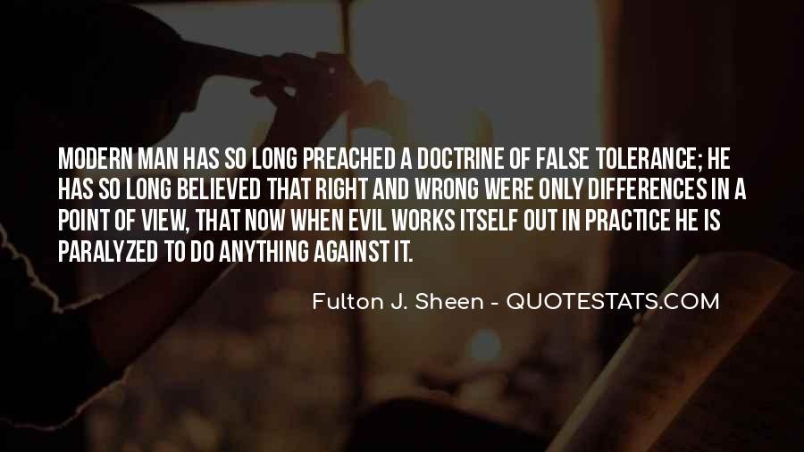 Right Doctrine Quotes #1455122