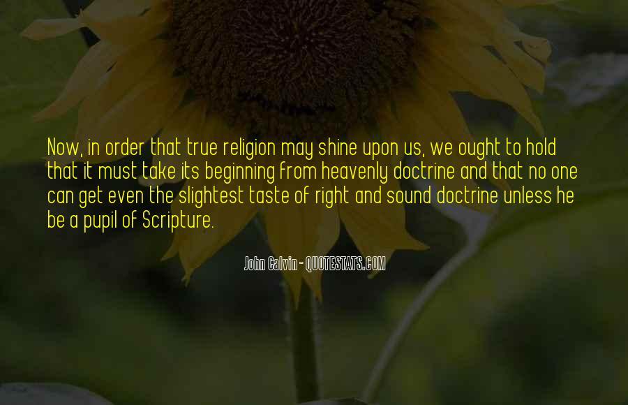 Right Doctrine Quotes #1577335