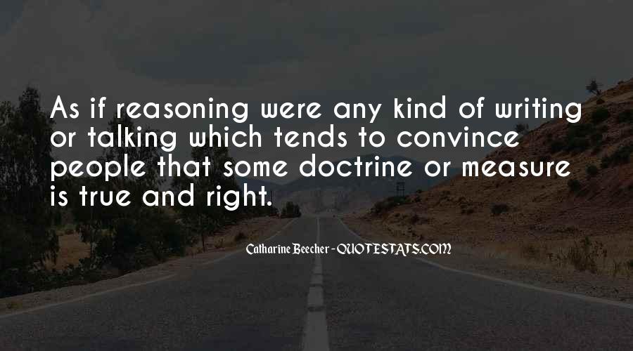 Right Doctrine Quotes #1613868