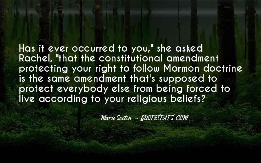 Right Doctrine Quotes #1659872