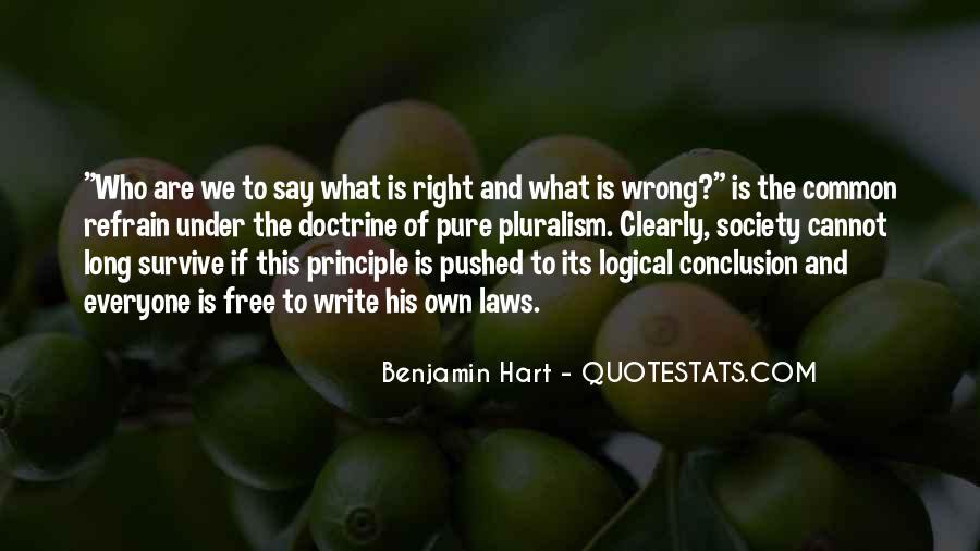 Right Doctrine Quotes #1754876