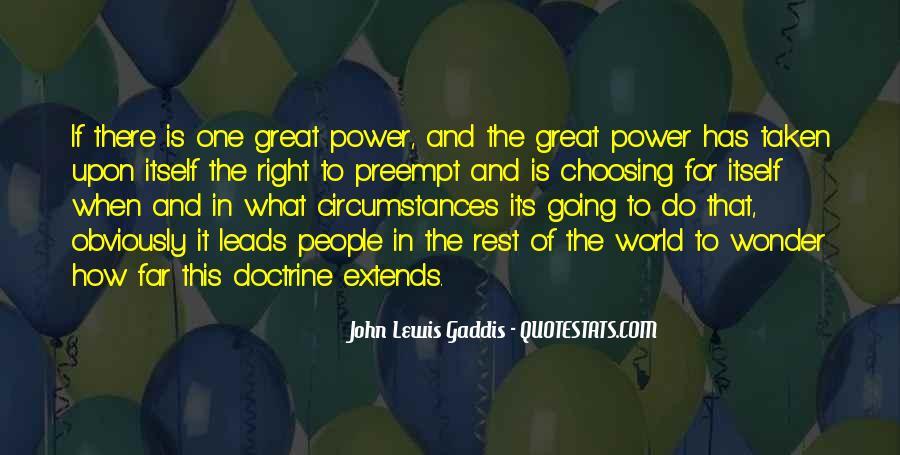 Right Doctrine Quotes #365369