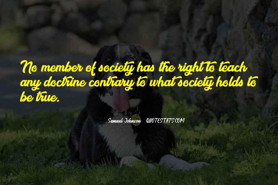 Right Doctrine Quotes #476049