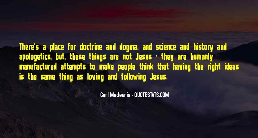 Right Doctrine Quotes #618725
