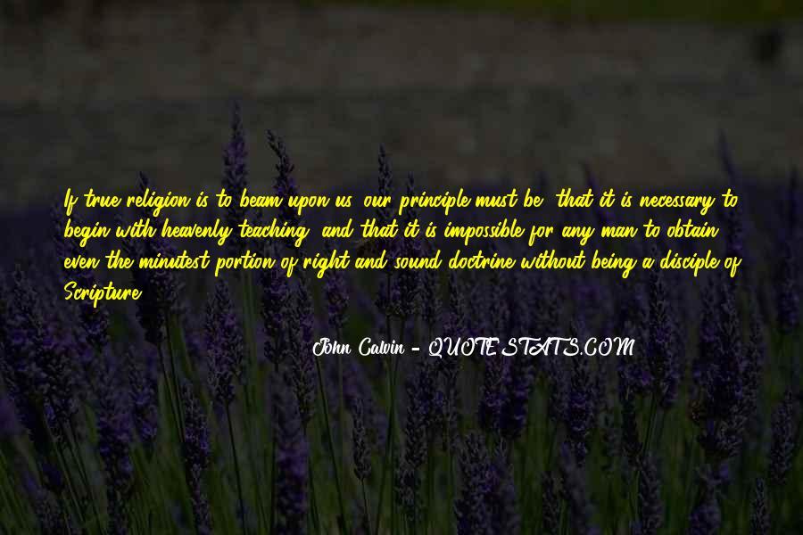Right Doctrine Quotes #62053