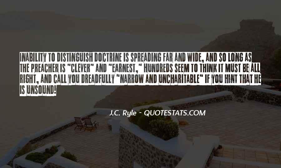 Right Doctrine Quotes #660072