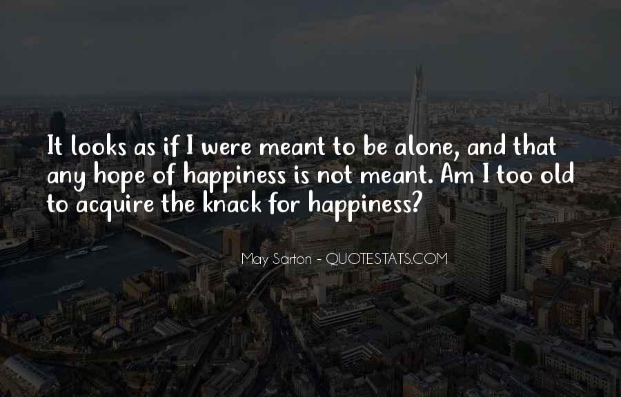 Quotes About As I Am #21760