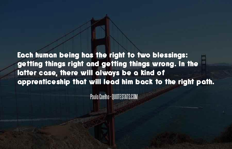 Right Kind Of Wrong Quotes #14229