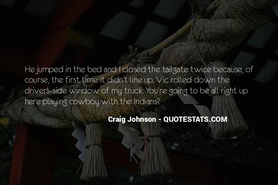 Right Side Of The Bed Quotes #1670995