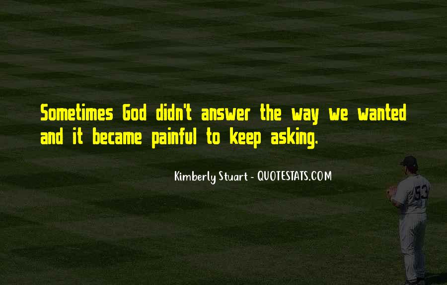 Quotes About Asking God For Something #138454