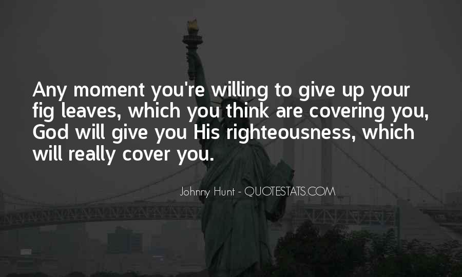Righteousness Christian Quotes #1195426