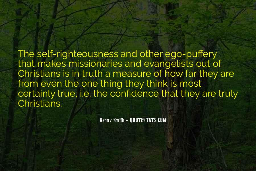Righteousness Christian Quotes #1773469