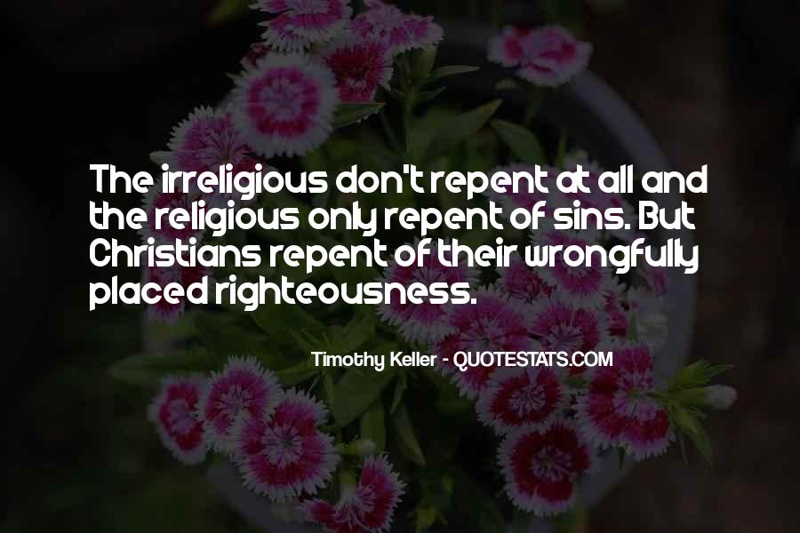 Righteousness Christian Quotes #1800096