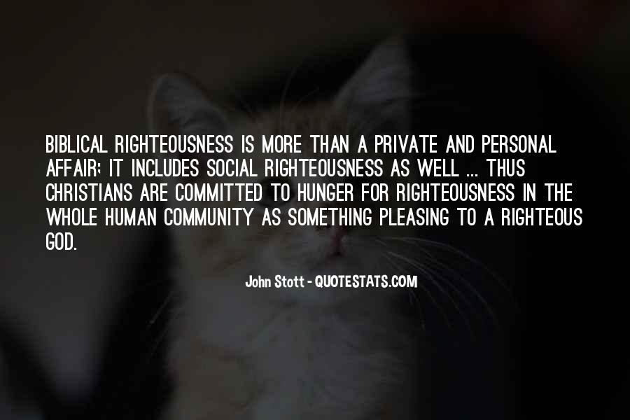 Righteousness Christian Quotes #474184