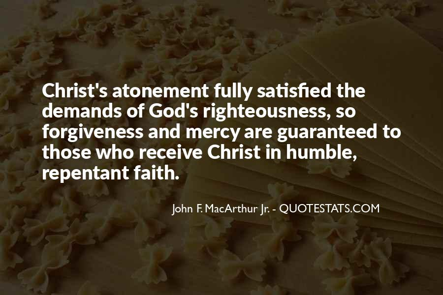 Righteousness Christian Quotes #538952
