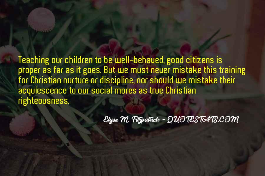 Righteousness Christian Quotes #609657