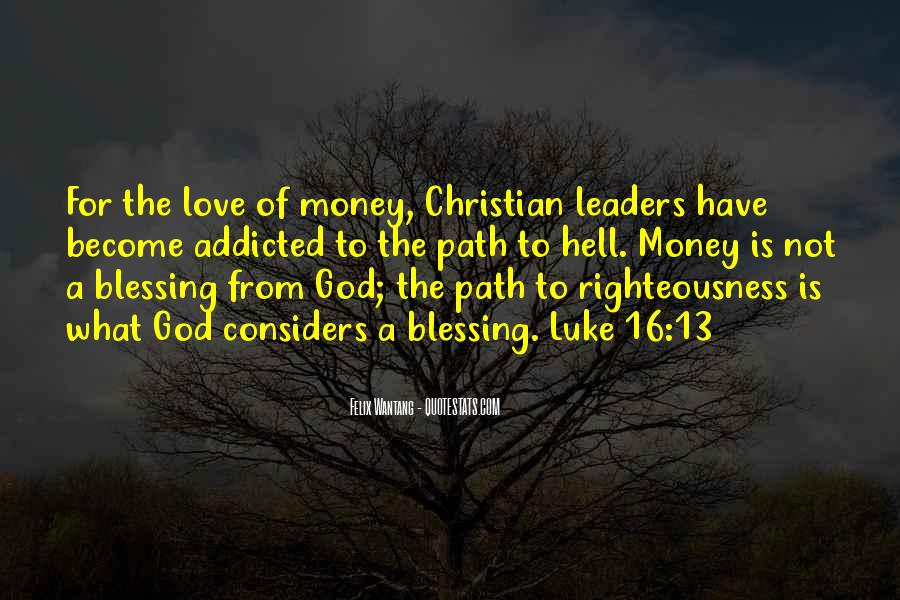 Righteousness Christian Quotes #860687